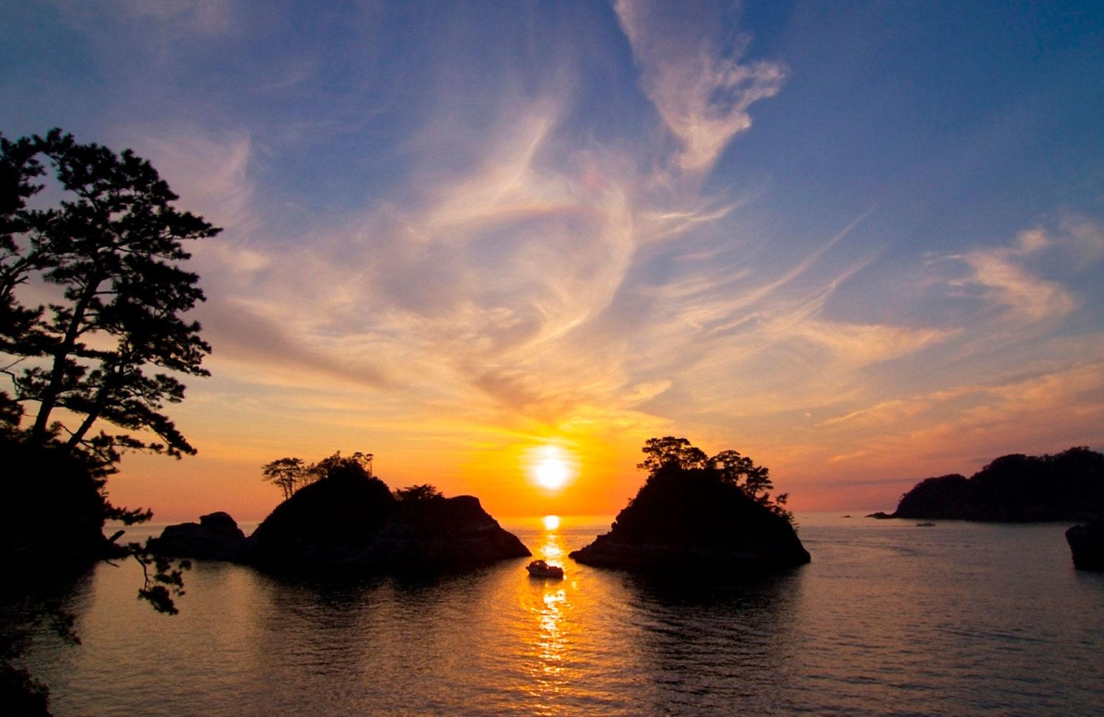 Sunset from Dogashima