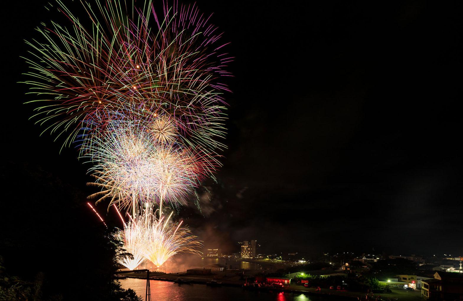 Matsuzaki Summer Festival Fireworks